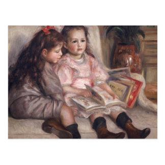 Pierre enfants de Renoir un   de Caillebotte Cartes Postales