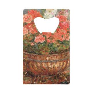 Pierre géraniums de Renoir un | dans un bassin de