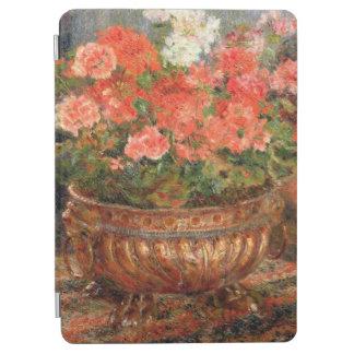 Pierre géraniums de Renoir un   dans un bassin de Protection iPad Air