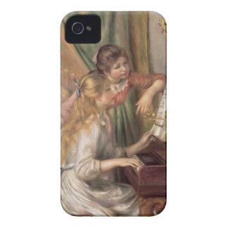 Pierre jeunes filles de Renoir un | au piano Coque Case-Mate iPhone 4