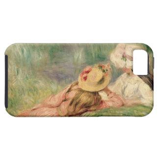 Pierre jeunes filles de Renoir un | sur la berge Coques iPhone 5