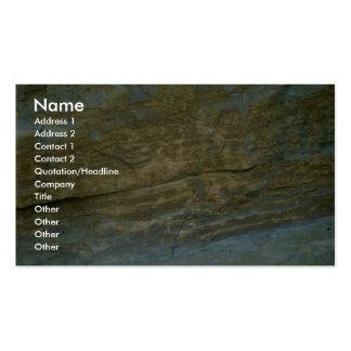 Pierre non polie de granit carte de visite standard