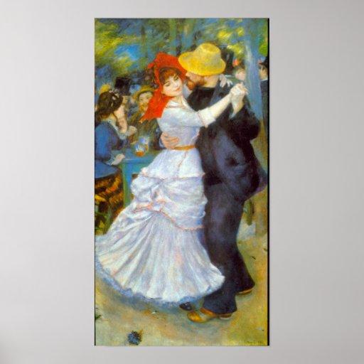 Pierre Renoir - danse chez Bougival Posters