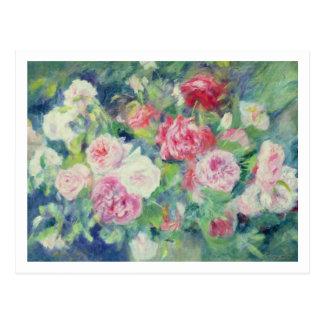 Pierre roses 2 de Renoir un   Carte Postale