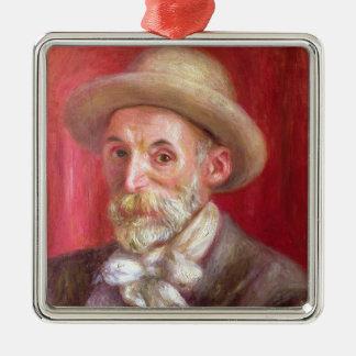 Pierre un autoportrait de Renoir | Ornement Carré Argenté