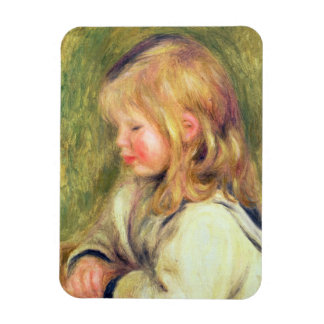 Pierre un enfant de Renoir | dans une lecture Magnet Flexible