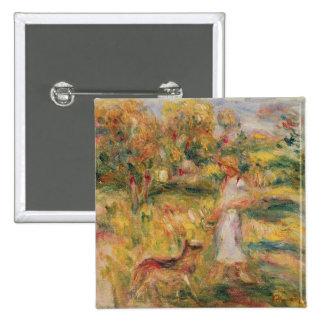 Pierre un paysage de Renoir | avec l'épouse de Badge