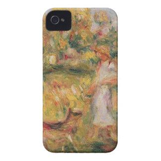 Pierre un paysage de Renoir | avec l'épouse de Coques Case-Mate iPhone 4