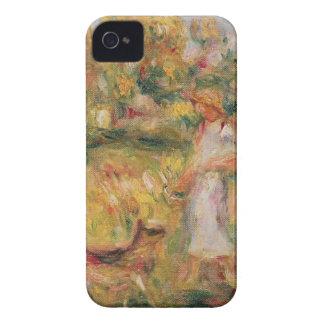 Pierre un paysage de Renoir | avec l'épouse de Coques iPhone 4 Case-Mate