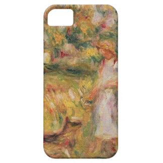 Pierre un paysage de Renoir | avec l'épouse de iPhone 5 Case