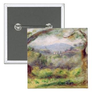 Pierre un paysage de Renoir | chez Les Collettes, Badge