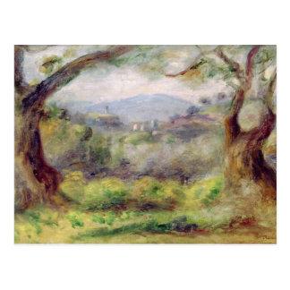 Pierre un paysage de Renoir | chez Les Collettes Cartes Postales