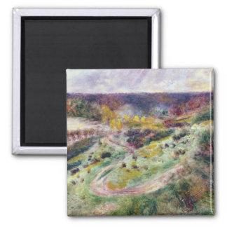 Pierre un paysage de Renoir   chez Wargemont Magnet Carré