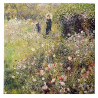 Pierre un paysage d'été de Renoir | Grand Carreau Carré