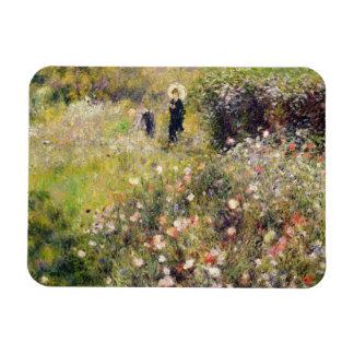 Pierre un paysage d'été de Renoir   Magnet En Vinyle