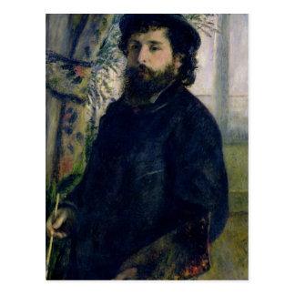 Pierre un portrait de Renoir   de Claude Monet Cartes Postales