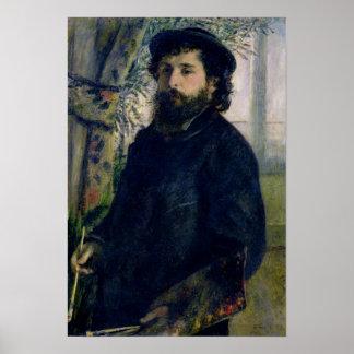 Pierre un portrait de Renoir | de Claude Monet Poster
