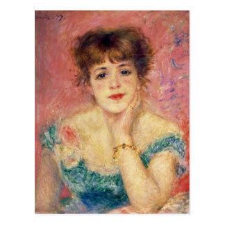 Pierre un portrait de Renoir | de Jeanne Samary Cartes Postales