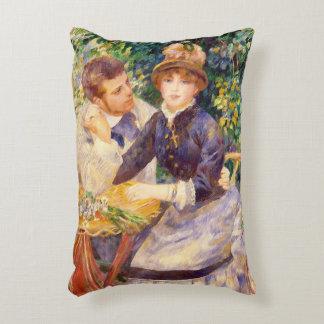 Pierre un Renoir   dans le jardin Coussins Décoratifs