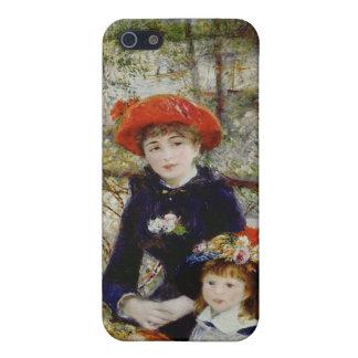 Pierre un Renoir | deux soeurs, ou sur la terrasse Coque iPhone 5