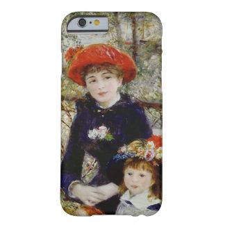 Pierre un Renoir   deux soeurs, ou sur la terrasse Coque iPhone 6 Barely There