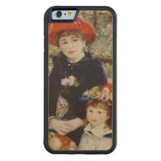 Pierre un Renoir | deux soeurs, ou sur la terrasse Coque iPhone 6 Bumper En Érable