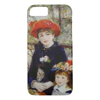 Pierre un Renoir   deux soeurs, ou sur la terrasse Coque iPhone 7