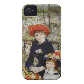 Pierre un Renoir | deux soeurs, ou sur la terrasse Coques iPhone 4