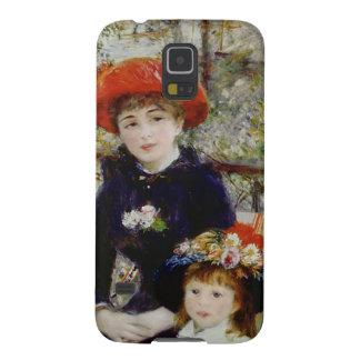 Pierre un Renoir | deux soeurs, ou sur la terrasse Coques Pour Galaxy S5