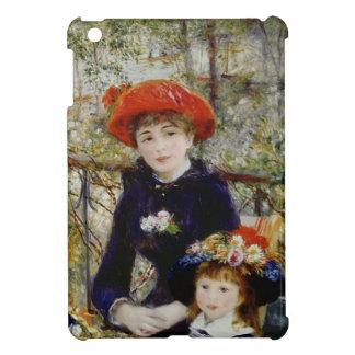 Pierre un Renoir | deux soeurs, ou sur la terrasse Étui iPad Mini
