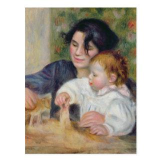 Pierre un Renoir   Gabrielle et Jean Carte Postale