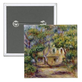 Pierre un Renoir | la ferme chez Les Collettes, Badge