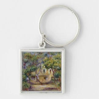 Pierre un Renoir   la ferme chez Les Collettes Porte-clé Carré Argenté