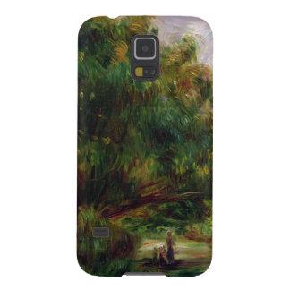Pierre un Renoir | la route près de Cagnes Coques Pour Galaxy S5