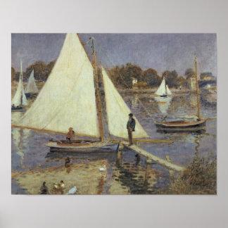 Pierre un Renoir | la Seine à Argenteuil Posters