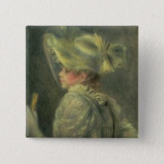 Pierre un Renoir | le casquette blanc Pin's