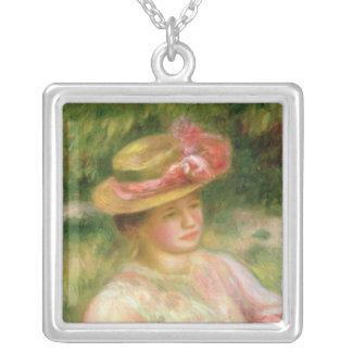 Pierre un Renoir | le chapeau de paille Collier