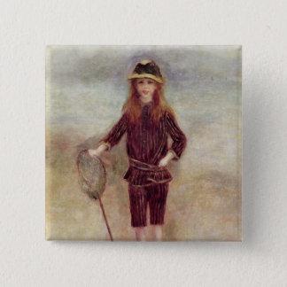 Pierre un Renoir   le petit Fisherwoman Badges