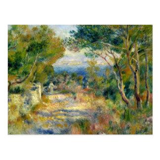 Pierre un Renoir   L'Estaque Carte Postale