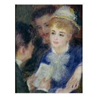 Pierre un Renoir | lisant le rôle Cartes Postales