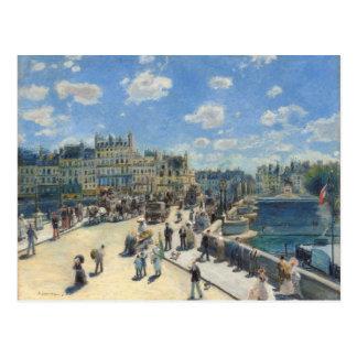 Pierre un Renoir   Pont Neuf, Paris Carte Postale