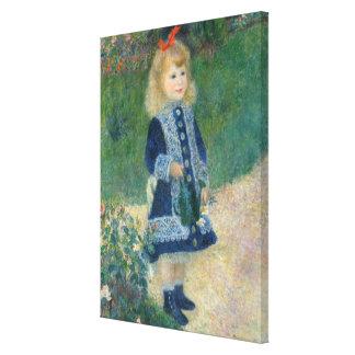 Pierre un Renoir | une fille avec une boîte Toiles