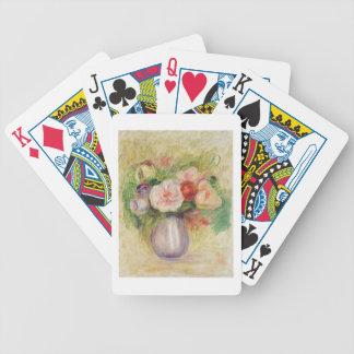 Pierre un vase à Renoir | de fleurs Jeu De Cartes