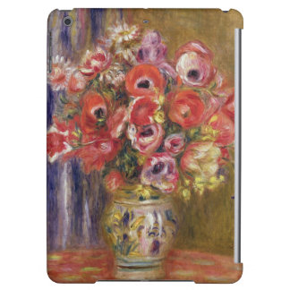 Pierre un vase à Renoir | de tulipes et d'anémones