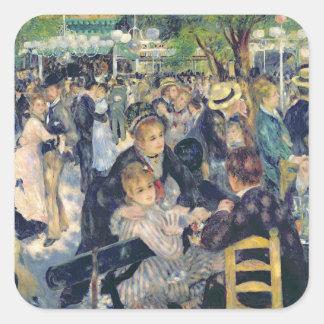 Pierre une boule de Renoir | chez Moulin de la Sticker Carré