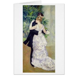 Pierre une danse de Renoir | dans la ville Carte De Vœux