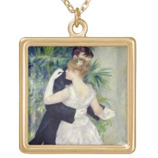 Pierre une danse de Renoir | dans la ville Collier Plaqué Or