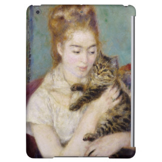 Pierre une femme de Renoir | avec un chat