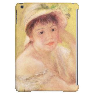 Pierre une femme de Renoir | dans un chapeau de