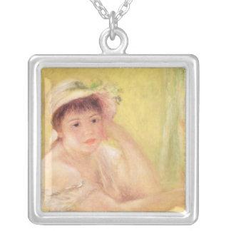 Pierre une femme de Renoir | dans un chapeau de Collier